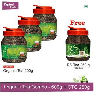 Byahut Gold - Organic Tea 600g with RS Tea 250g Free