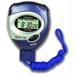 Taksun Handheld LCD Digital Professional Timer Sports Stopwatch Stop Watch