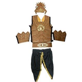 Bahubali Superhero Fancy Dress Costume For Kids