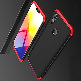 outlet store a7a91 851e0 SK GKK Double Dip Case Cover For Vivo V9 - (Black And Red)