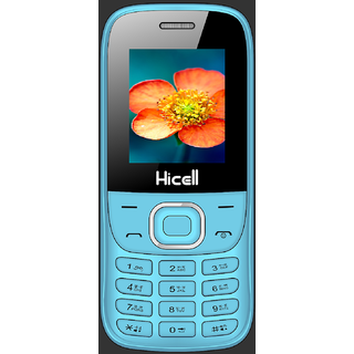 HICELL C1 FOX  DUAL SIM, 1.8 INCH DISPLAY, 1050mAh BATTERY, CALL RECORDING, SOS FEATURE (BIS CERTIFIED)