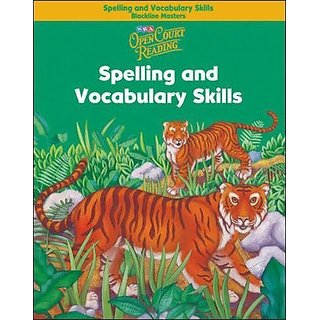 Buy Open Court Reading - Spelling and Vocabulary Skills