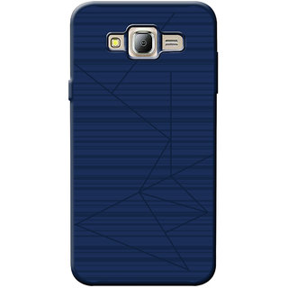Cellmate Flexible back Cover For Samsung J7 - Blue