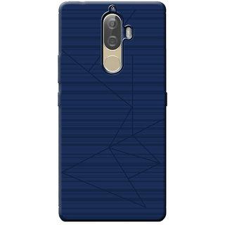 Cellmate Flexible back Cover For Lenovo K8 Plus - Blue