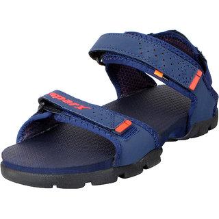 Sparx Men's Navy Red Outdoor Sandals