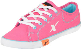 Sparx Women's Pink Blue Stylish Sneakers