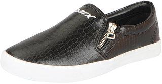 Sparx Women's Black Trendy Loafers