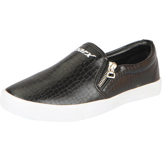 Sparx Womens Black Trendy Loafers
