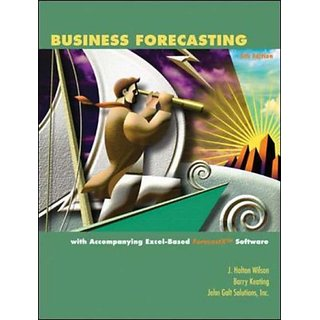 Business Forecasting with ForecastX Software & Student CD