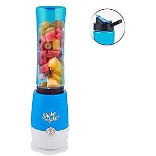 Shake N Take 3 Smoothie Blender With 2 Sport Bottle Mini Personal Charge Pattern Juicer Smoothie Blender