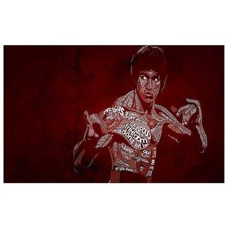 Bruce Lee stickers | bruce lee sticker | bruce lee motivational stickers | bruce lee quotes stickers