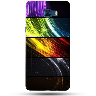 PREMIUM STUFF PRINTED BACK CASE COVER FOR SAMSUNG GALAXY C7 DESIGN 5942