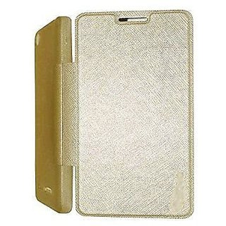 Golden Colour CAIDEA Folio Flip flap case cover For HTC Desire 826