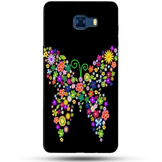 PREMIUM STUFF PRINTED BACK CASE COVER FOR SAMSUNG GALAXY C7 DESIGN 5968