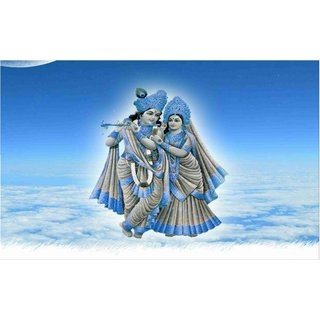 Lord Shri Radhe Krishna sticker for Room