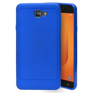 finest selection e28ca a619a ECellStreet Soft Dotted Texture Back Case Cover For Samsung Galaxy J7 Prime  2 G611FF (2018) - Blue