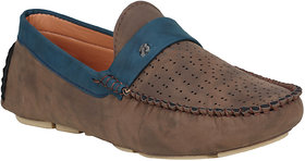 Bachini Fantastic Brown Casual Loafers For Men