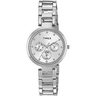 Timex Analog Silver Dial Womens Watch-TW000X211