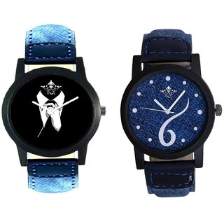 Professional Men And Sports Sixth Art Design Quartz  Combo Analogue Wrist Watch By Ram Enterprise