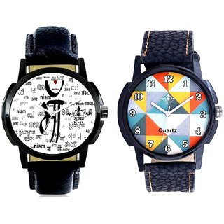 Maa All Language And Fancy Orange Colour Men's Combo Analog Wrist Watch By Ram Enterprise