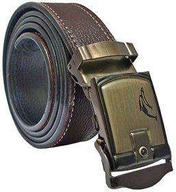 Sunshopping Brown Leatherite Belt For Men