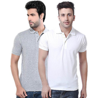 Ketex Men's Multicolor Polo T-shirt Pack of 2