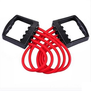 Maison Cuisine Adjustable Rubber Chest Developer / Chest Expander Exerciser Multi function 5 Rubber Tubes Muscle Pulli