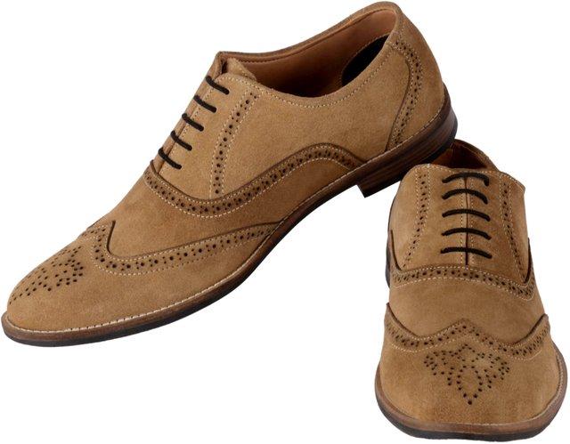 39a3e43c8e2b05 Buy Aaiken Men's Suede Leather Oxford Shoes Casual Lace up Dress Shoes  Online - Get 58% Off
