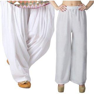 women  Palazzo pant trousers with Patiala Salwar ,pajama