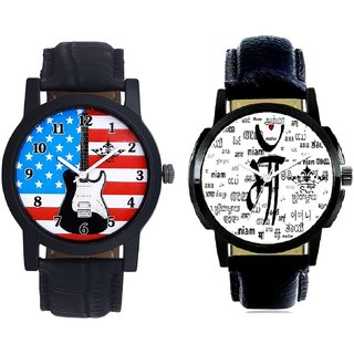 Maa All Language And Exclusive USA Design Analogue Men's Combo Wrist Watch BY Harmi Exim