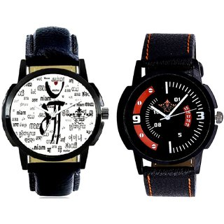 Maa All Language And Attractive Sport Design Quartz  Combo Analogue Wrist Watch BY Harmi Exim