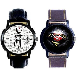 Maa All Language And Super Men Stylish Men's Combo Analog Wrist Watch BY Harmi Exim