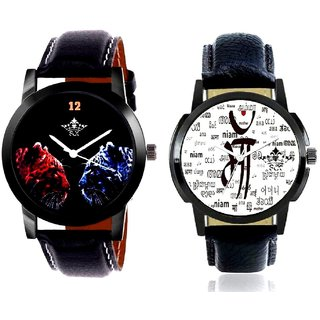 Maa All Language And 2 Jaguar Analogue Men's Combo Wrist Watch BY Harmi Exim