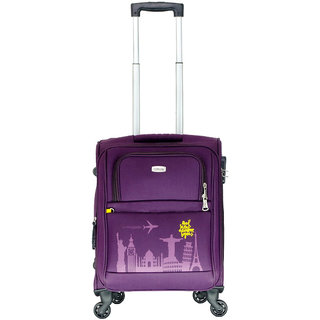 Timus Salsa Wine Cabin 55 Cm 4 Wheel Strolley Suitcase For Travel