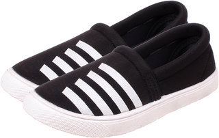 Klaps Women's Black Casual Shoes