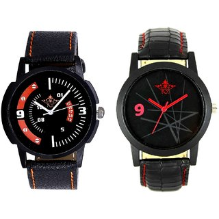 Attractive Sport Design And Star Design Casual Analog Combo Men's Watch By Taj Avenue