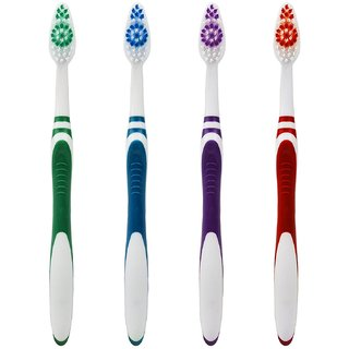 Aquawhite super Clean toothbrush ( pack of 4 )
