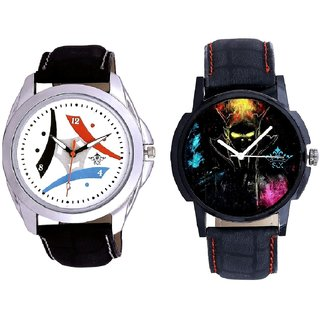 Elegant 3D Designer And Luxury Design 3 Fan Analogue Men's Combo Watch By Vivah Mall