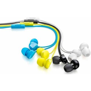 Set Of 3 Coloured Premium Quality In the Ear Earphones
