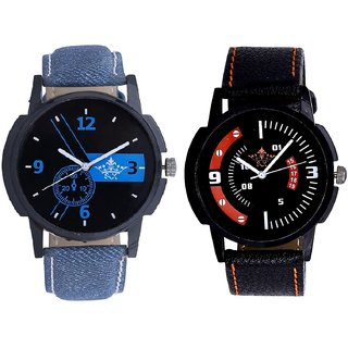 Attractive Blue Dial And Attractive Sport Design Quartz  Combo Analogue Wrist Watch By Fashion Gallery Mall