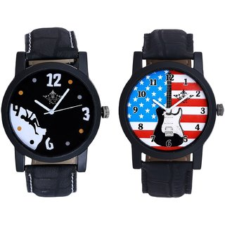 Exclusive USA Design And Goal Achived Motivated Men's Analog Combo Casual Wrist Watch By Fashion Gallery Mall