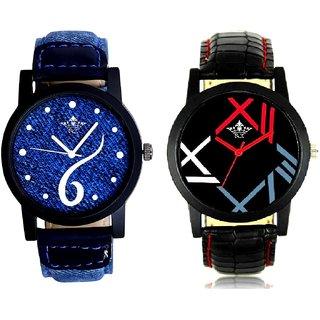 Sports Sixth Art Design And Fancy Roman Digit Men's Combo Analog Wrist Watch By Fashion Gallery Mall