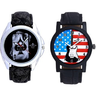 Exclusive USA Design And Life Race Akka Analogue Men's Combo Wrist Watch By Fashion Gallery Mall