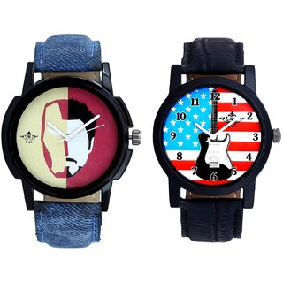 Exclusive USA Design And Rocky Men's Analogue Men's Combo Wrist Watch By Fashion Gallery Mall