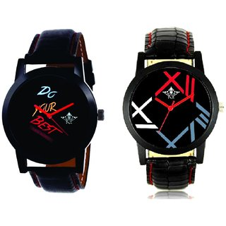 Do Your Best Multi Colour And Fancy Roman Digit Men's Combo Analog Wrist Watch By Fashion Gallery Mall
