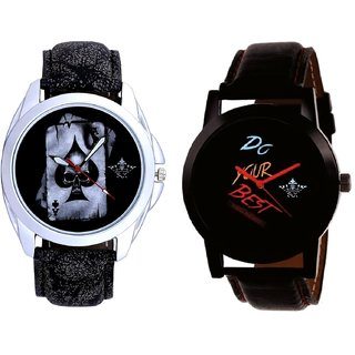 Do Your Best Multi Colour And Life Race Akka Analogue Men's Combo Wrist Watch By Fashion Gallery Mall