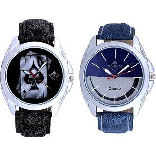 Life Race Akka And Stylish Smile Dial Analogue Men's Combo Wrist Watch By Fashion Gallery Mall