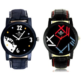 Goal Achived Motivated And Fancy Roman Digit Men's Combo Analog Wrist Watch By Fashion Gallery Mall