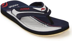 ADDA COMFORTABLE NAVY / GREY COLOR FLIPFLOPS FOR MEN