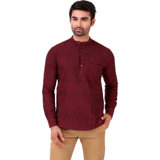 Men Short Kurta Full Sleeves